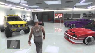 getlinkyoutube.com-GTA V Online / Mon garage + véhicules spécial