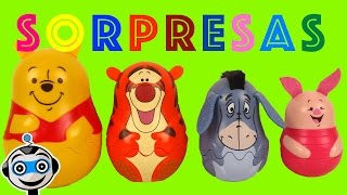getlinkyoutube.com-Matrioskas de Winnie the Pooh con Huevos Sorpresa