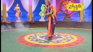 getlinkyoutube.com-Kuchipudi dancer Vishwanath's composition performed at Sirisirimuvva finals