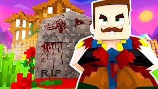 getlinkyoutube.com-HELLO NEIGHBOR - WHAT'S IN THE GRAVE!? | Hello Neighbor In Minecraft