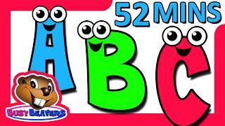 "getlinkyoutube.com-""ABCs & 123s DVD"" - 52 Minutes, Alphabet + Numbers Learning Songs, Teach Baby Toddler Nursery Rhymes"
