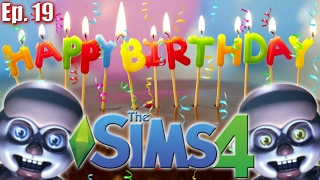 getlinkyoutube.com-HAPPY BIRTHDAY BABS... now make out - The Sims 4: FNAF Sister Location - Ep 19