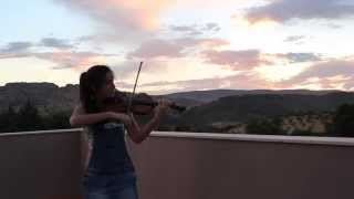 getlinkyoutube.com-Lovers on the sun - David Guetta / Violin Cover - Laura Castillo