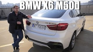 getlinkyoutube.com-(ENG) BMW X6 M50d (F16) - Test Drive and Review