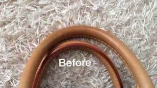 getlinkyoutube.com-How to clean Louis Vuitton Bags?,How to clean Vachetta leather?