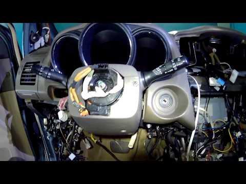 Разборка, снятие торпеды Lexus RX350, RX330, RX300, RX400