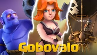 getlinkyoutube.com-Clash Of Clans | Gobovalo Strategy For Town Hall 9 (Variations Of Govalo)