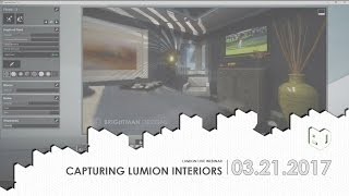 Capturing Lumion Interiors