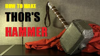 How to Make Thor's Hammer - Avengers: Age of Ultron