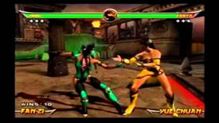 getlinkyoutube.com-Mortal Kombat Stage Fatalities and Death Traps Collection