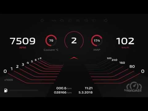 Speedrunner RealDash premium dashboard