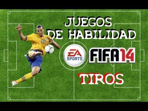 FIFA 14 - [JUEGOS DE HABILIDAD] 3. TIROS