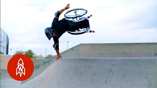 Wheelz in the Air: Hitting the Skatepark on a Wheelchair