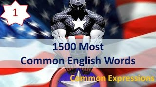 getlinkyoutube.com-1500 Most Common English Words - 01: Common Expressions