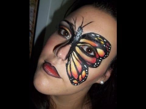 Maquillaje de fantasía  - Mariposa Monarca