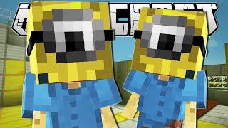 getlinkyoutube.com-Minecraft   MINIONS IN MINECRAFT!!   One Command Creation