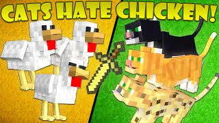 getlinkyoutube.com-Why Cats Hate Chickens - Minecraft