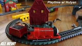 getlinkyoutube.com-Troublesome Traps Set Playtime - All New Thomas & Friends Trackmaster