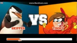 getlinkyoutube.com-Super Brawl 2 - SKIPPER vs TIMMY TURNER