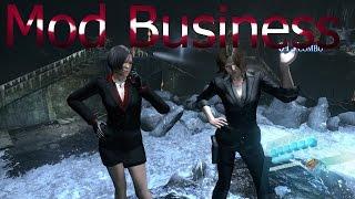 getlinkyoutube.com-Resident Evil 6 Mods Ada and Helena Business