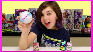 Blind Box Surprise Egg Mystery Ball Mix Opening - Yowie, Tokidoki and Dreamworks Home
