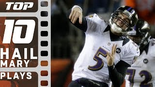 getlinkyoutube.com-Top 10 Hail Mary Plays of All Time! | NFL