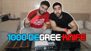 getlinkyoutube.com-1000 Degree Knife Challenge