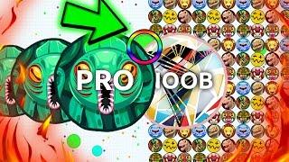 getlinkyoutube.com-Agar.io - 1 POPSPLIT KING vs. 1000 NOOBS! // GREATEST AGARIO TROLLING AND HACKED MOMENTS!