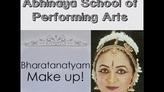 getlinkyoutube.com-Bharatanatyam Makeup - Video and Make up by Monica Iyengar