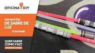 getlinkyoutube.com-Mini Sabre de Luz - Star Wars | Oficina DIY #22