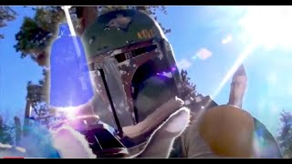 getlinkyoutube.com-Star Wars BOBA FETT vs VADER