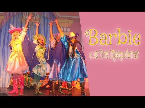 COREOGAFIA FINAL BARBIE E AS TRÊS  MOSQUETEIRAS
