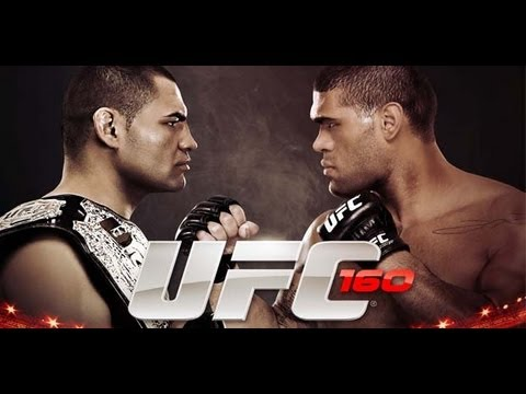 Big Foot Silva vs. Cain Velasquez at UFC 160! Who Wins?