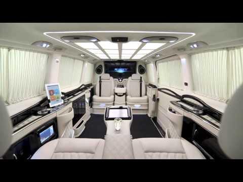 Как из микроавтобуса сделать VIP-дворец на колесах? знает фирма KLASSEN VIP