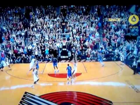 Buzzer-Beater Batum Clippers vs Blazzers