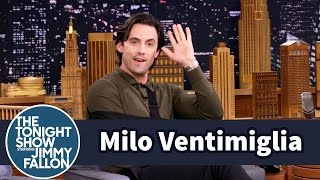 getlinkyoutube.com-Milo Ventimiglia Surprises a Fan Watching This Is Us During Filming
