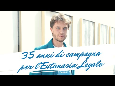 35 anni di campagna per l'Eutanasia Legale raccontati da Matteo Mainardi