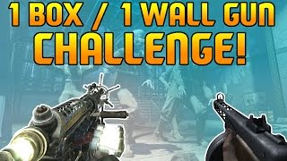 getlinkyoutube.com-Call of Duty Zombies -- 1 BOX 1 WALL WEAPON Challenge on Der Riese! (Part 1)