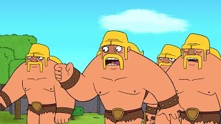 Clash-A-Rama-The-Series-Ballad-of-the-Barbarian width=