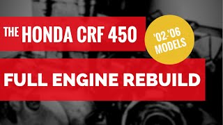 getlinkyoutube.com-Honda CRF 450 Bottom End Rebuild / Full Engine Rebuild, Chapter 1 (of 8)