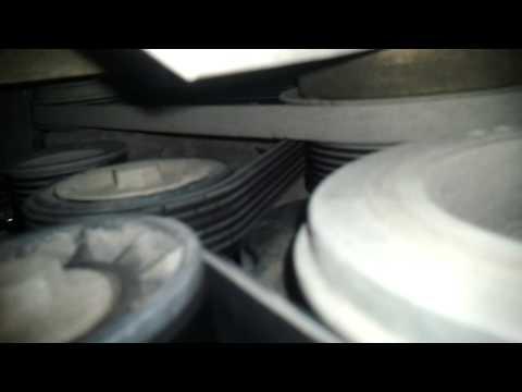 Замена ремня генератора iveco F1A