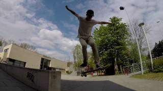 BRIEL Skate Sesh - Fun day with the locals!