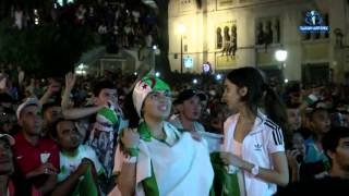 getlinkyoutube.com-Algerie vs Russie  Superbe celebration a alger  HD