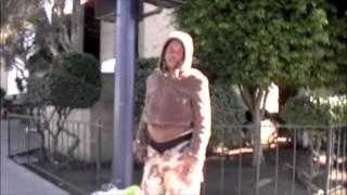 getlinkyoutube.com-Women Pees on San Diego sidewalk