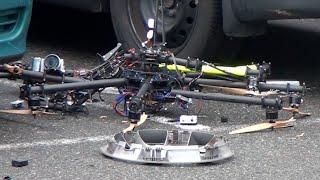 getlinkyoutube.com-Amazing Drone Crash | Vancouver Canada