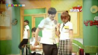 getlinkyoutube.com-Trouble Maker - BTOB Sungjae & 4Minute Sohyun in School Uniform (Feat. Kwanghee)