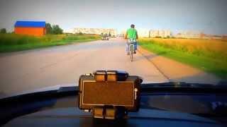 """getlinkyoutube.com-Велосипед с мотором, тюнинг-2 (дэшка, дырчик, мопед) +замер скорости, +ГИМН ДЭШКИ группа """"БЕНЗИН""""."""