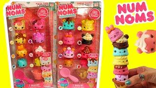 getlinkyoutube.com-★Num Noms Moving 8 Packs★ NEW Num Noms Motorized 8 Packs Unboxing Surprises Sorpresas Toys Videos