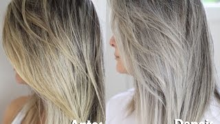 getlinkyoutube.com-Como desamarelar o cabelo loiro / Cabelo Platinado - Resenha Specialist Blond Amend