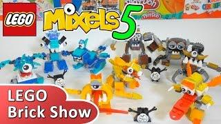 getlinkyoutube.com-ЛЕГО Миксели 5 серия, обзор всех наборов (LEGO Mixels Series 5)